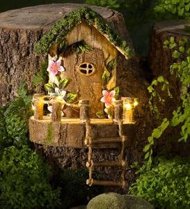 Woodland Fairy Door with Ladder