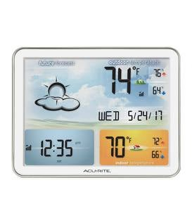 Jumbo Color Display Weather Station with Wireless Outdoor Remote