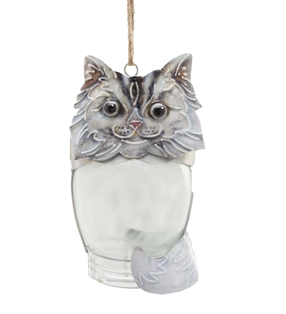 Glass Jar Critter Ornaments