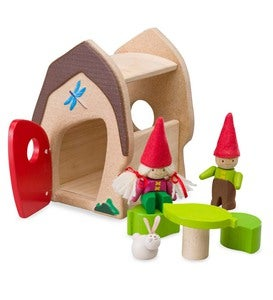 Gnome, Sweet Gnome Sustainable Wood Play Set