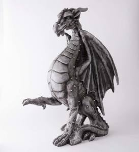 Large Indoor/Outdoor Medieval Dragon Statue