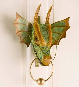 Metal Dragon Door Knocker