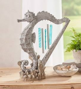 Seahorse Harp Wind Chime