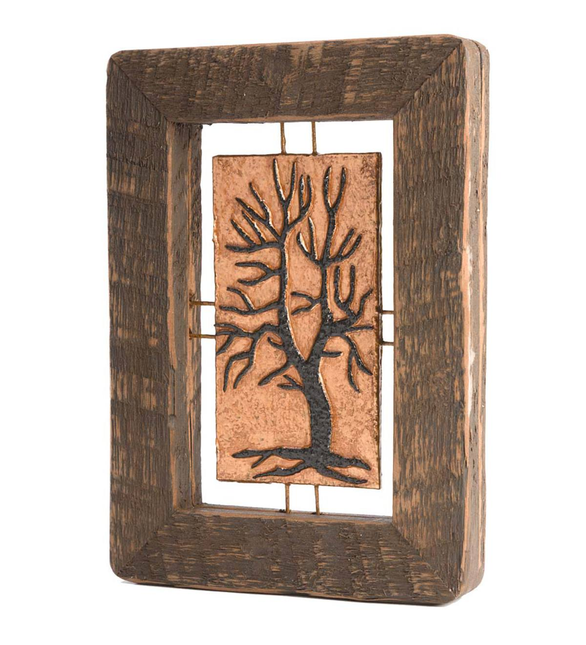 Handcrafted Paper Tree Wall Art - Wide