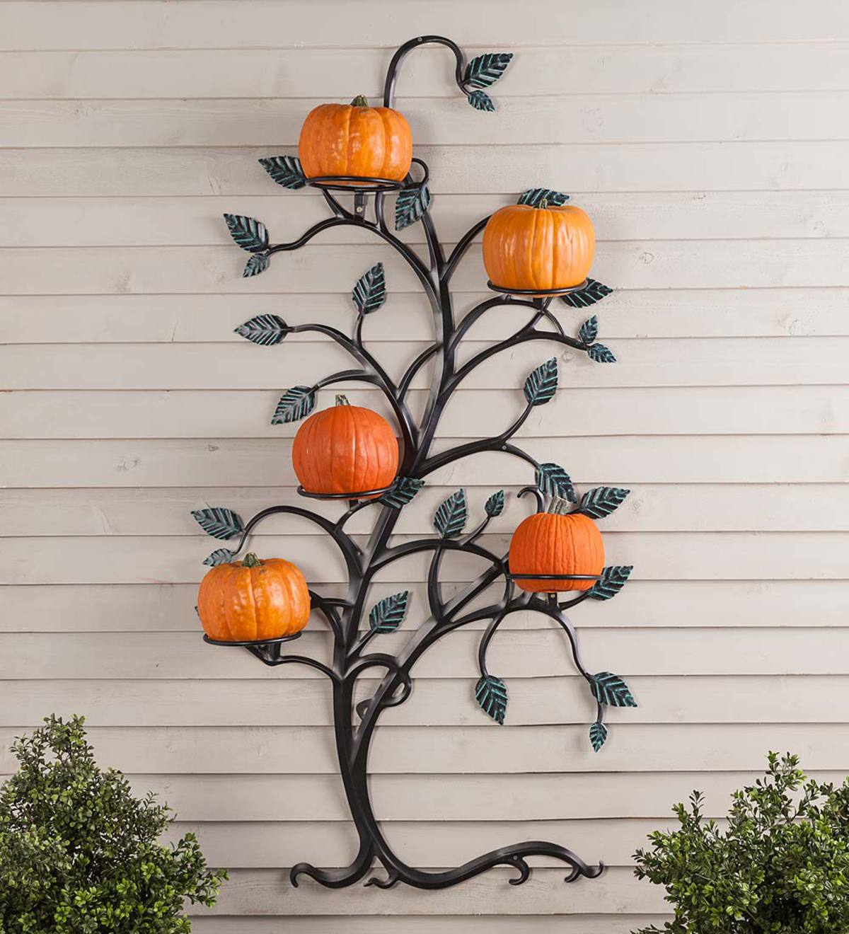 Hanging Tree Trellis With Pot Holders Wind And Weather