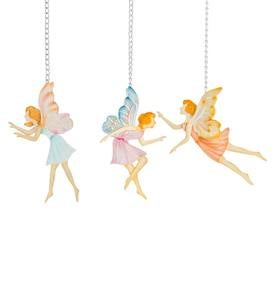Metal Fairy Stakes and Hangers, Set of 3
