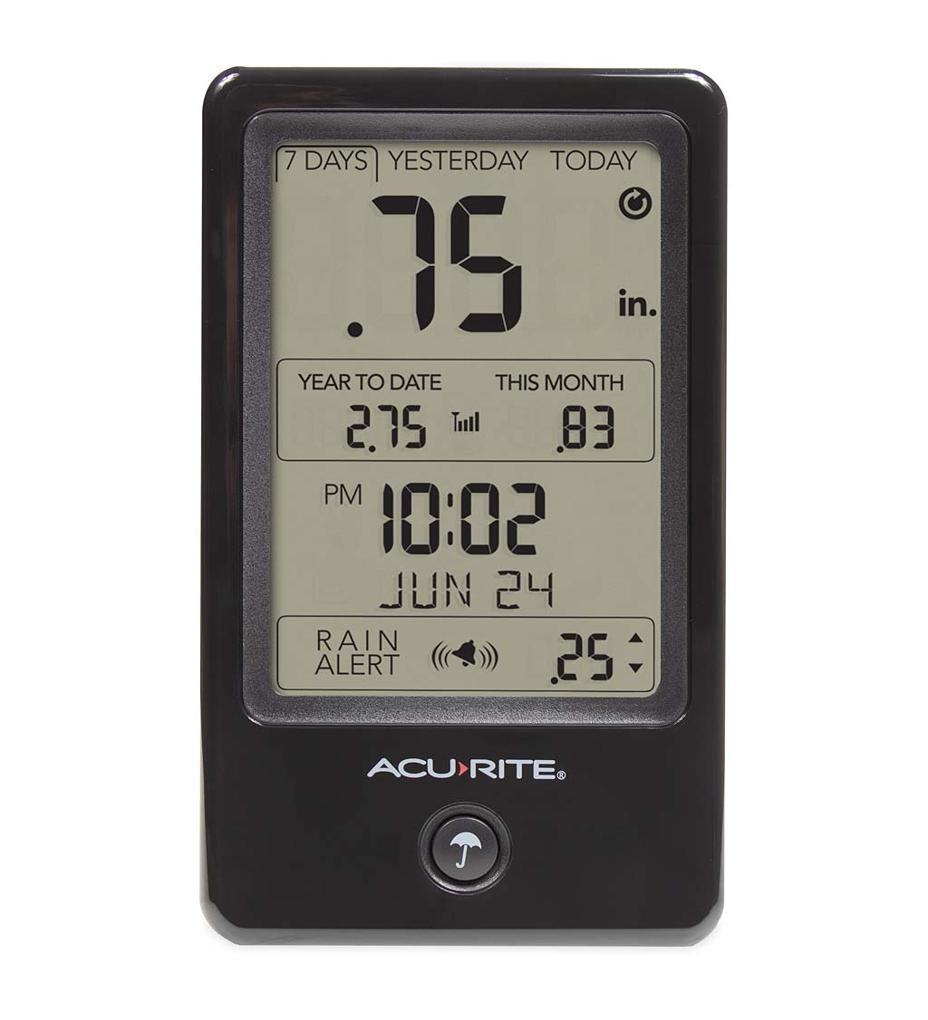 Acurite Digital Rain Gauge with Self-Emptying Remote Collection Unit