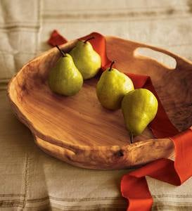 Natural Root Wood Serving Tray