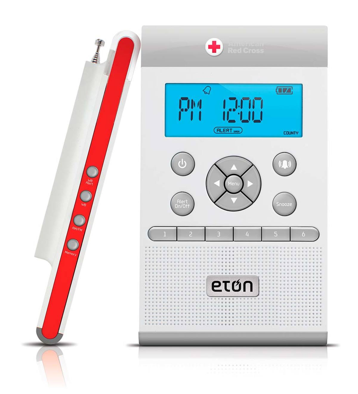 American Red Cross ZoneGuard Weather Radio