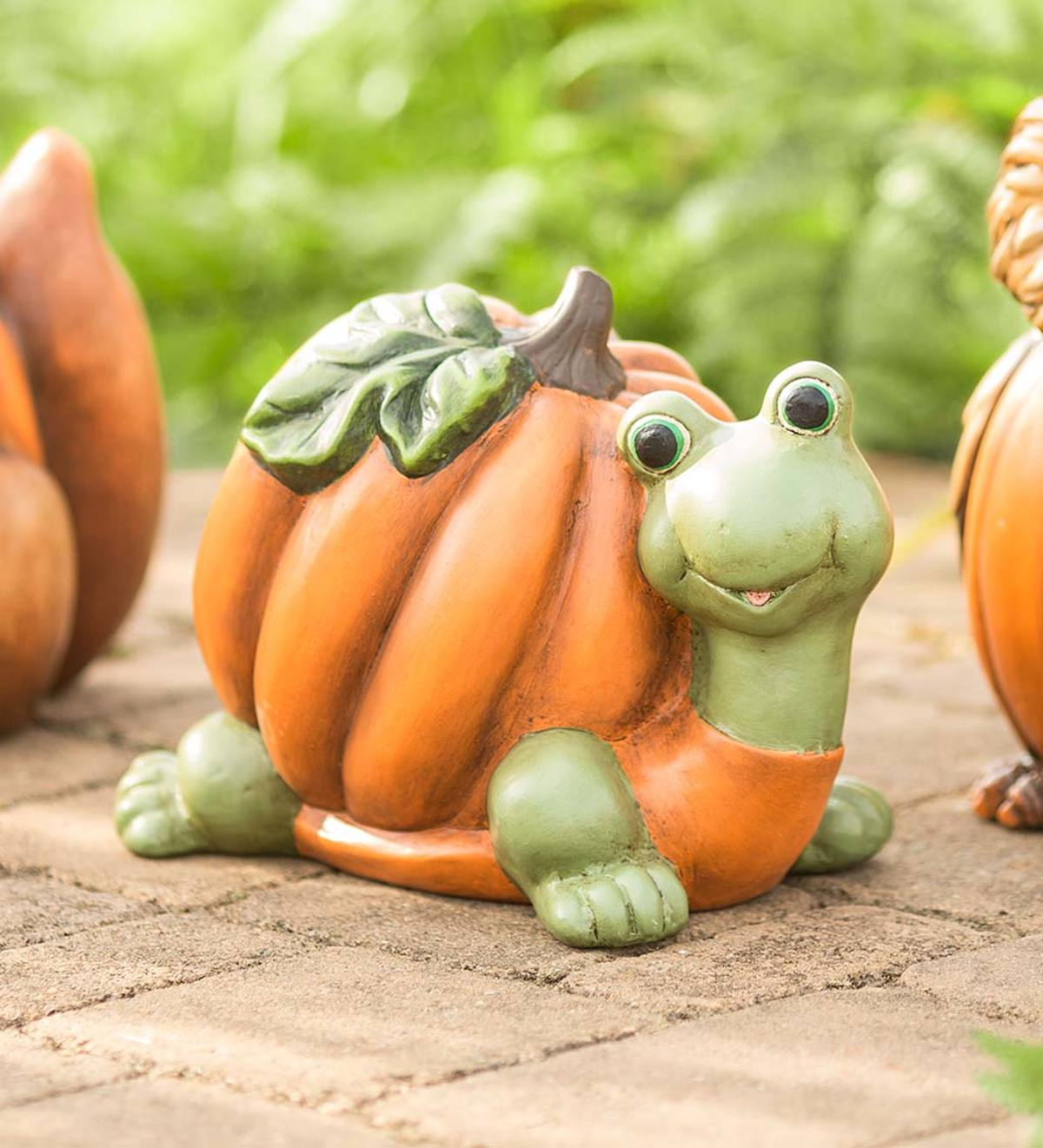 Pumpkin-Shelled Turtle Sculpture
