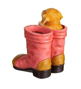 Puppy in Boots Planter