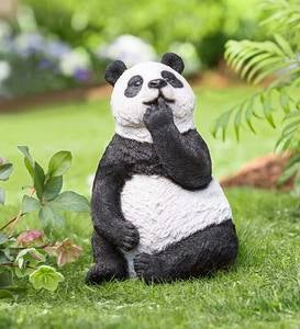 Thinking Panda Sculpture