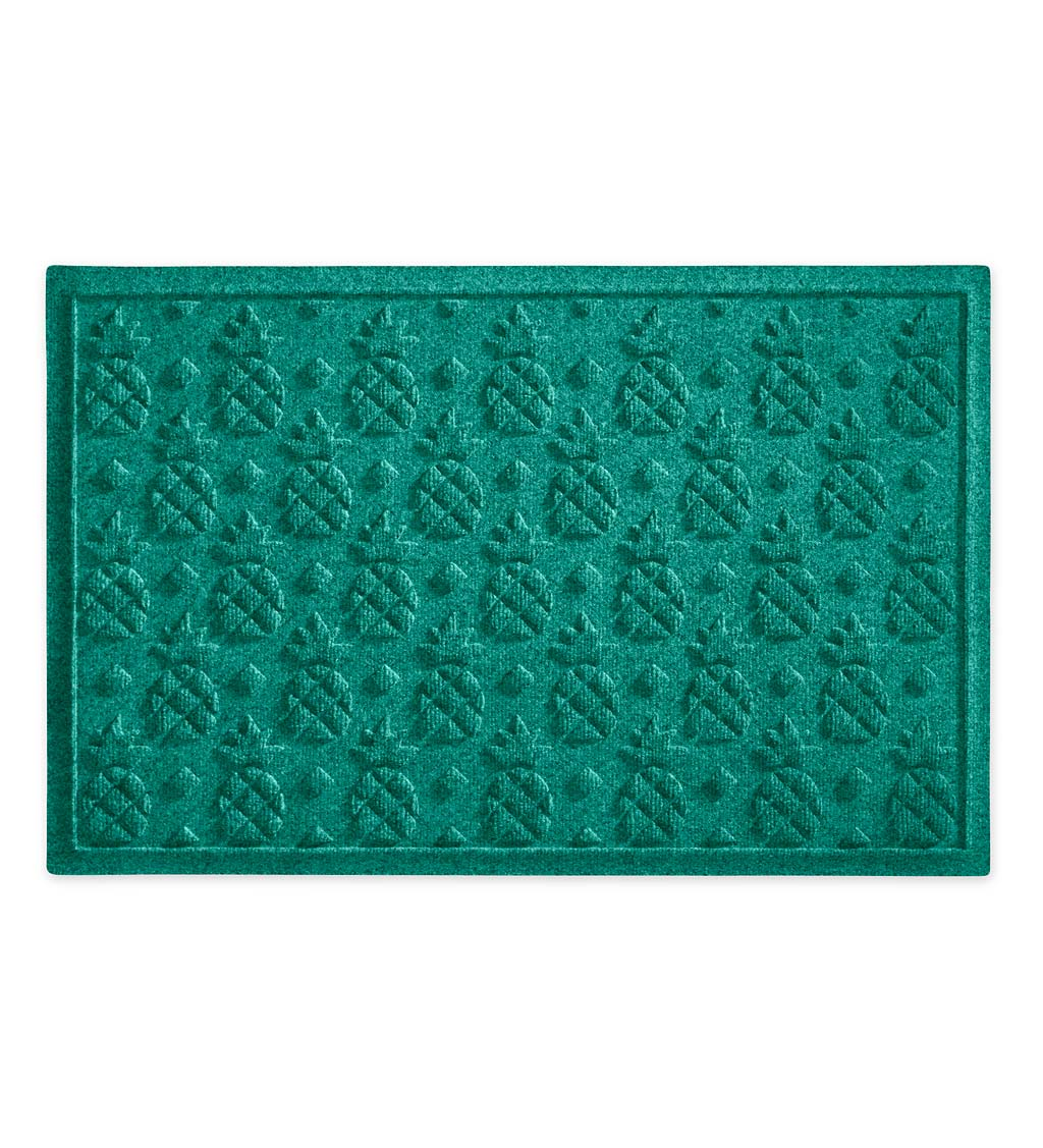 Waterhog Pineapple Doormat, 3' x 5' - Aqua