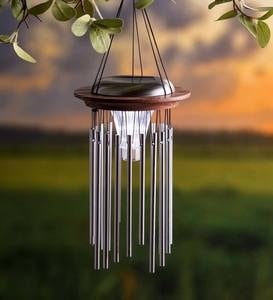 Solar Lighted Wind Chime