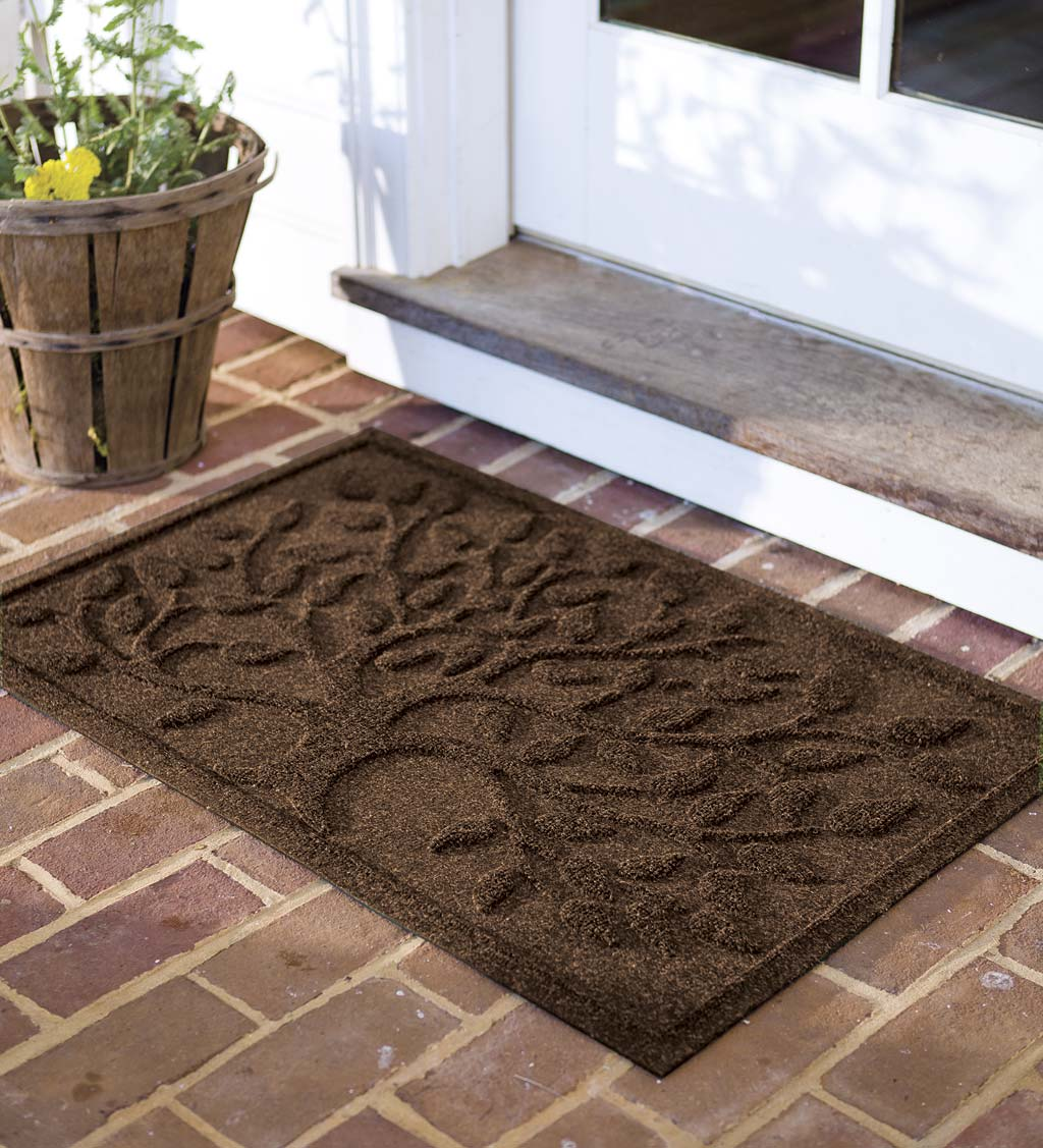 Waterhog Tree of Life Doormat, 3' x 5' - Brown
