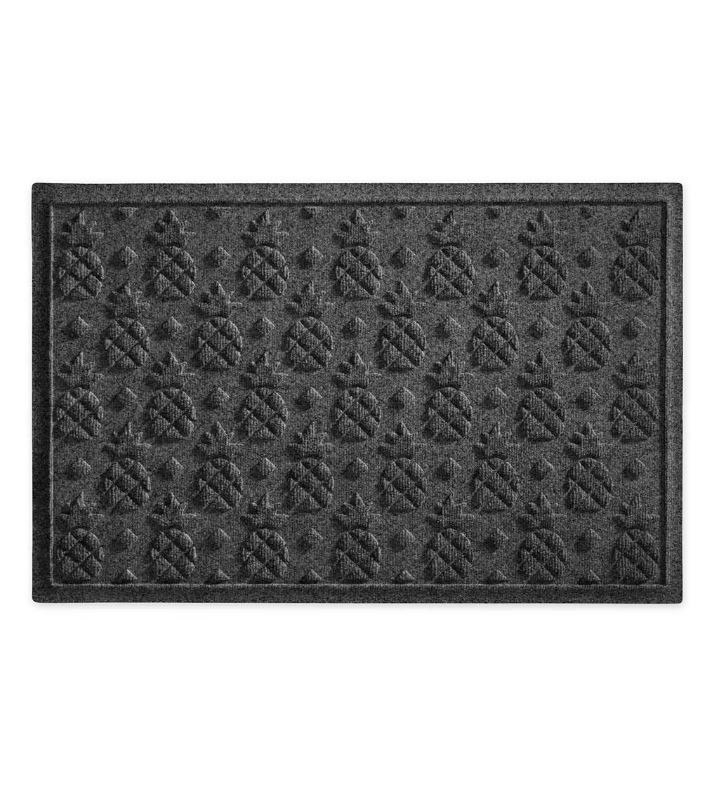 Waterhog Pineapple Doormat, 3' x 5' - Bordeaux