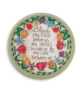 Table Prayer Lazy Susan