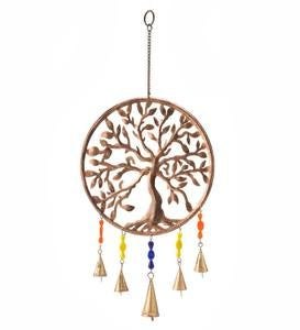Metal Tree of Life Wind Chime