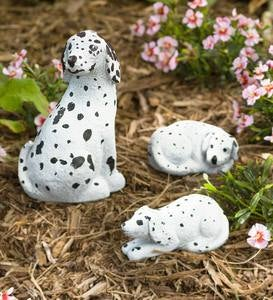 Paintable Rock Dogs, Set of 3