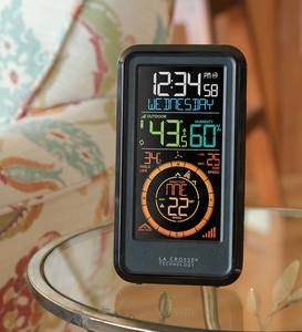Handheld Weather Station with 3-in-1 Remote Sensor