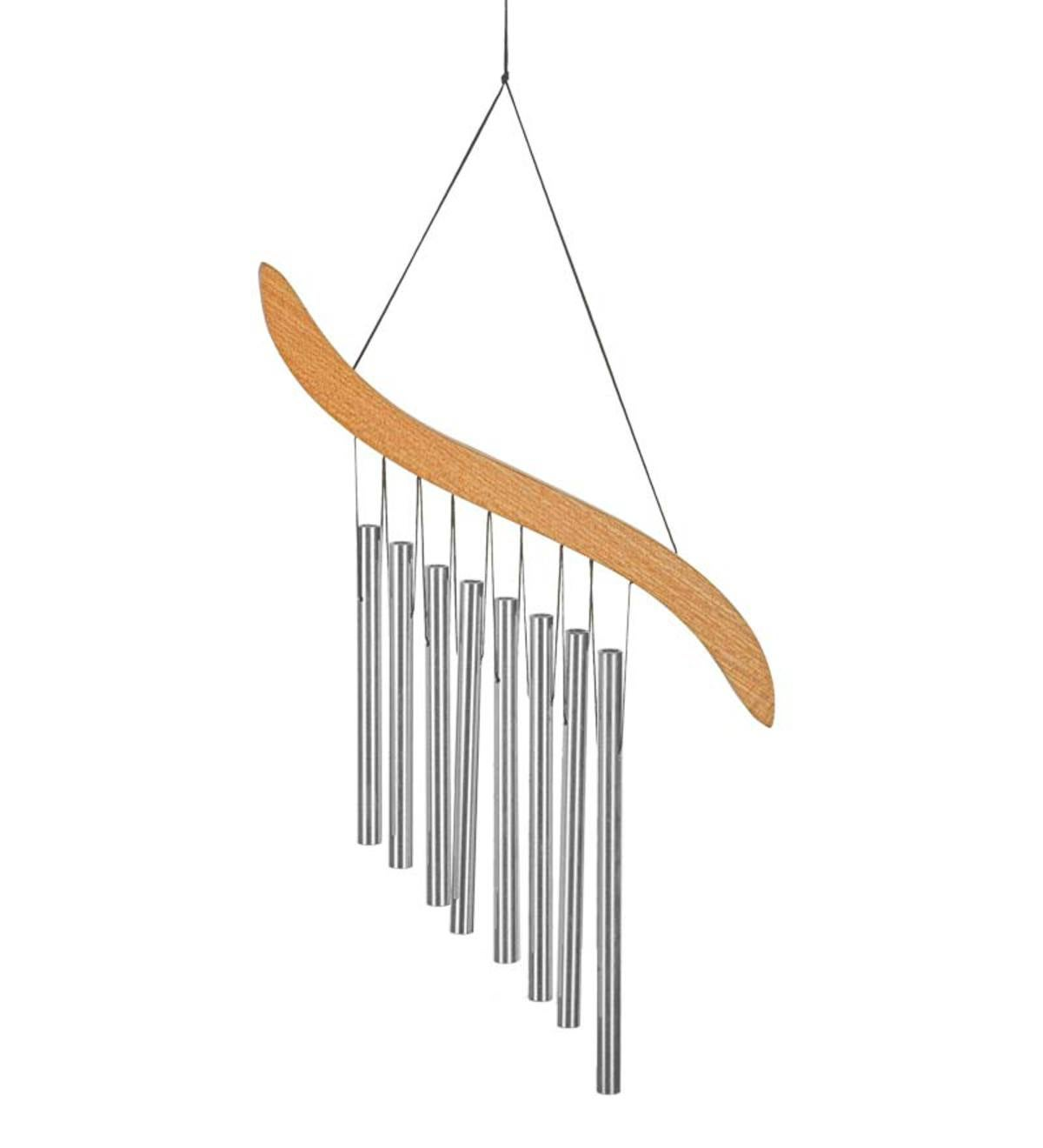 Oriental-Style Emperor's Harp Wind Chime With Eight Tubes