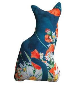Cat-Shaped Decorative Pillow