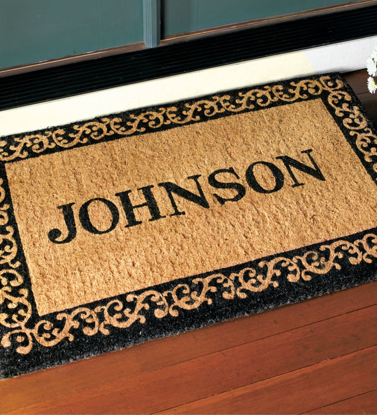 Large Personalized Mat