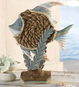 Wood and Rope Fish