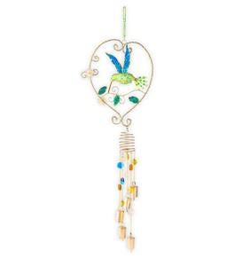 Hummingbird Beaded Wind Chime