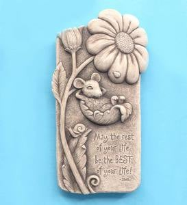 Best of Your Life Stone Plaque by Carruth Studio