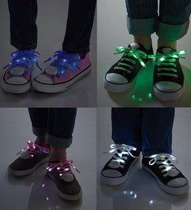 Light-Up LED Shoelaces - Blue