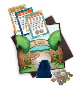 Zookeeper Coin and Trading Card Set