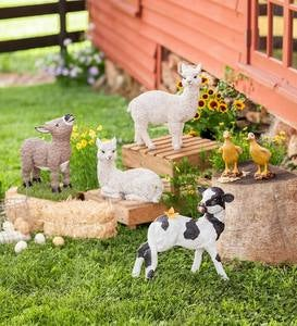 Alpaca Sculptures