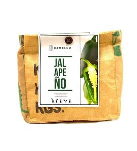 Organic Garden Vegetables Grow Kit - Jalapeno