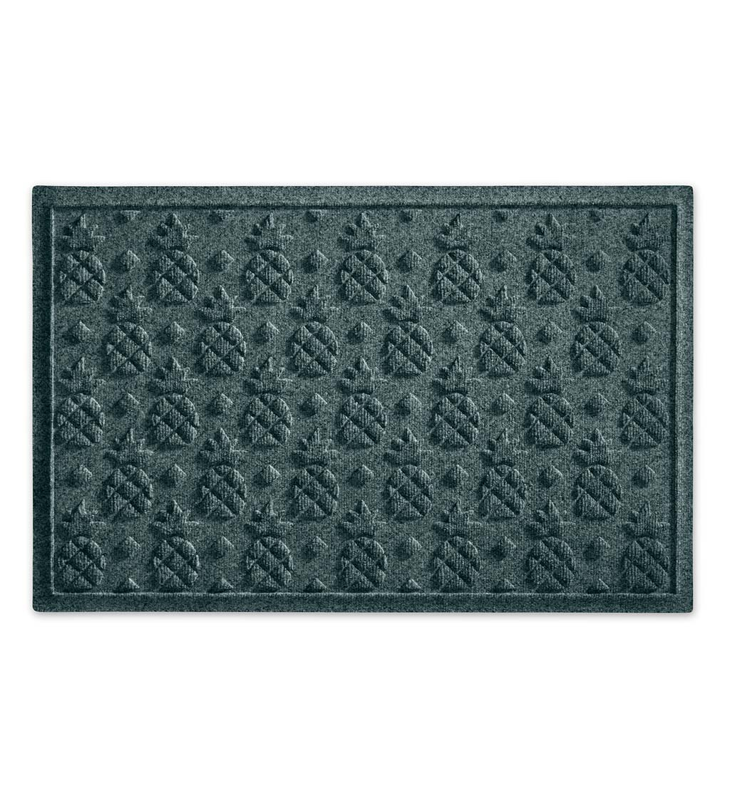 Waterhog Pineapple Doormat, 3' x 5' - Bluestone