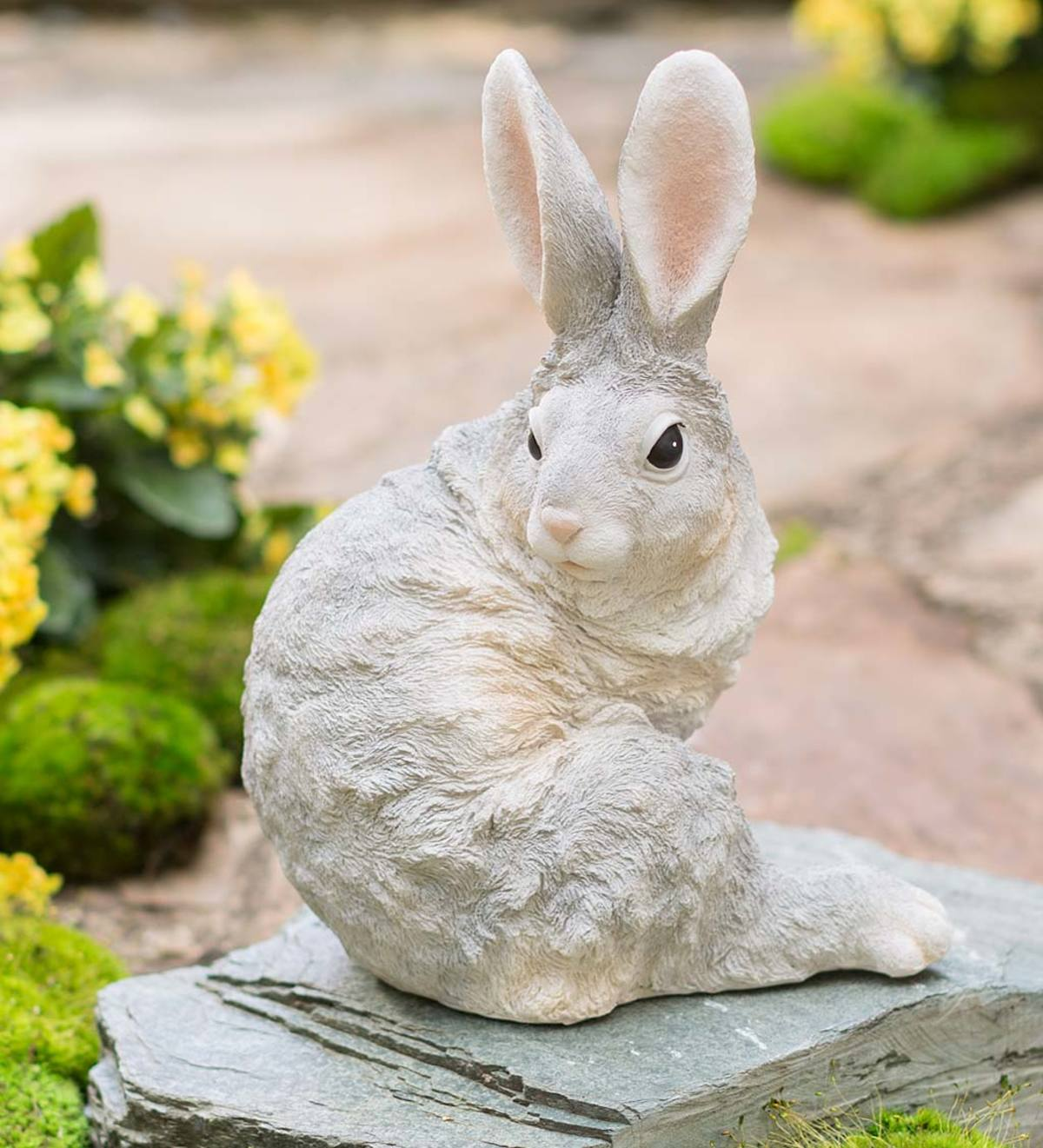 Sitting Bunny Sculpture