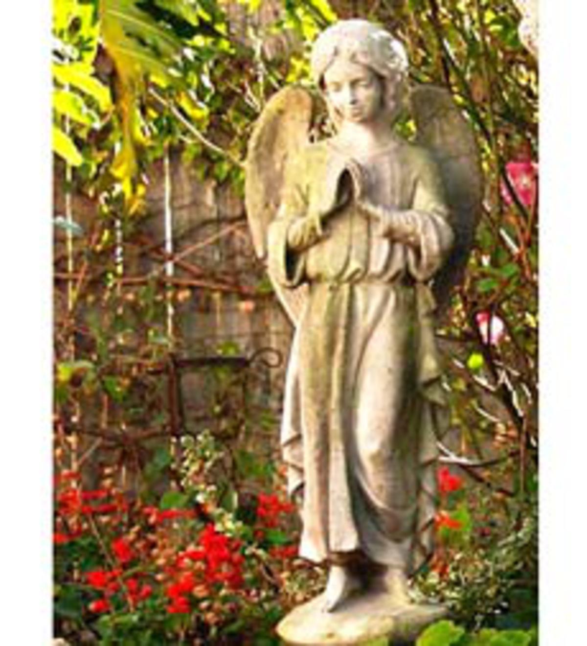 Ariel Angels | Garden Statues | Deck and Patio | Yard & Patio | Wind ...
