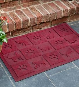 Waterhog™ Doormat with Cat Design