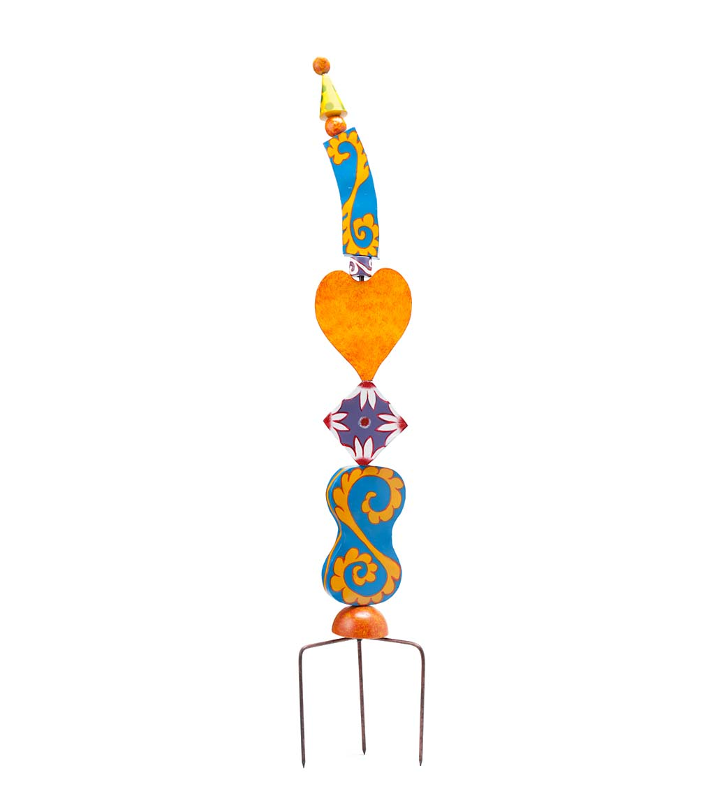 Colorful Metal Decorative Garden Stakes