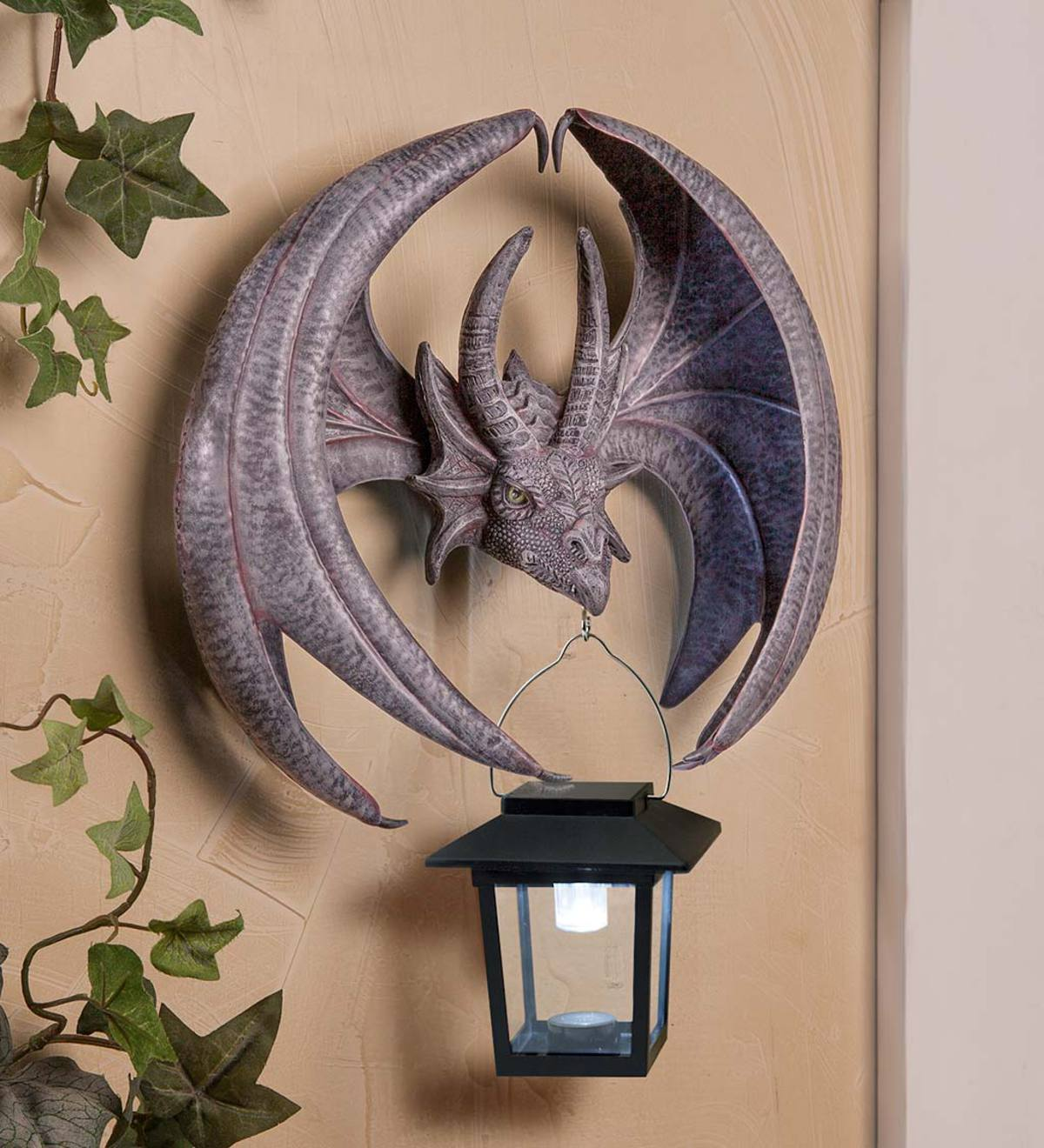 online store e6624 434aa Solar Dragon Wall Sconce | Wind and Weather