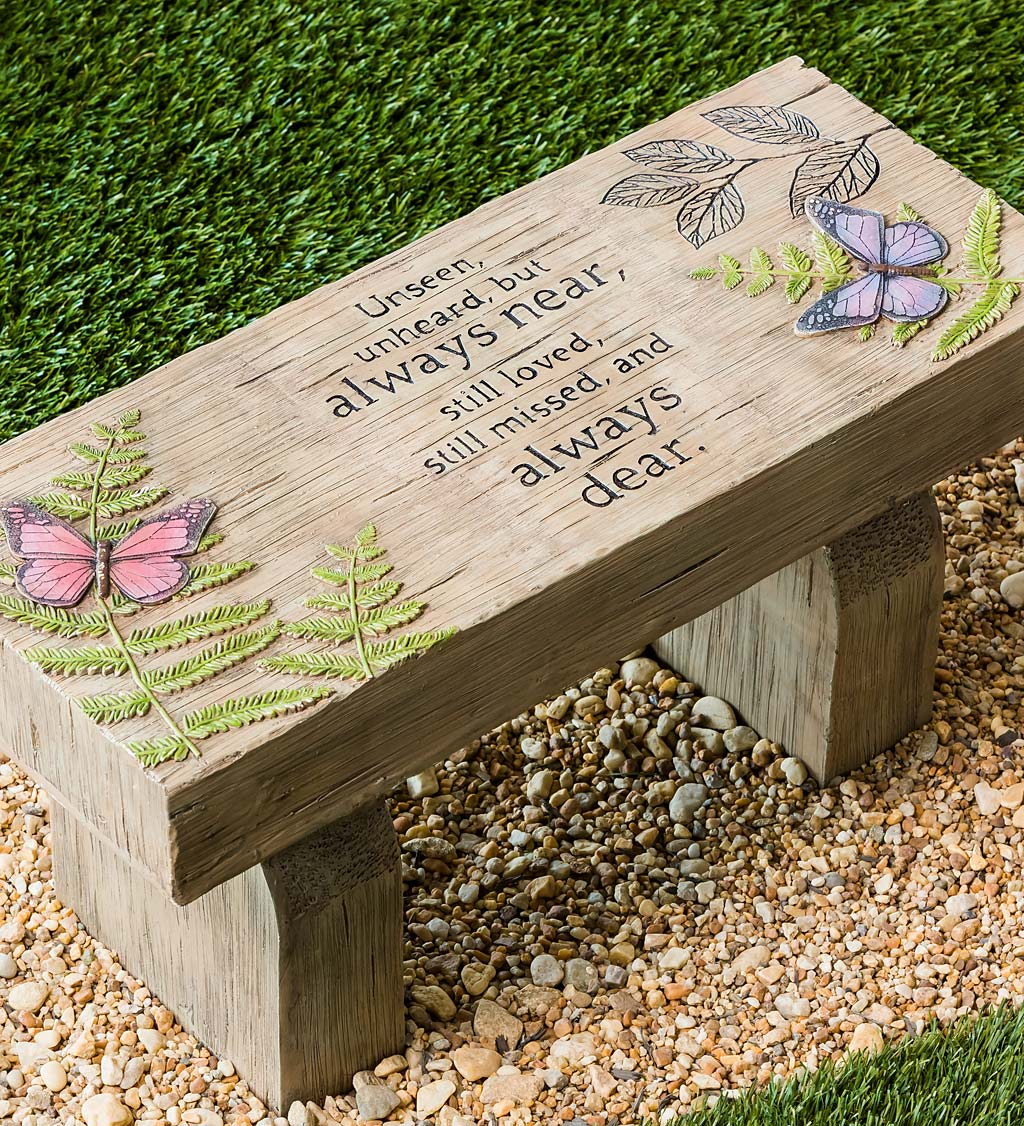 Those We Love Memorial Garden Bench