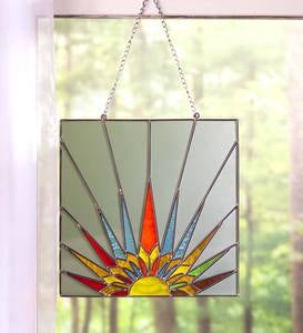 Stained Glass Rising Sun