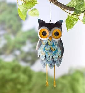Bluebell the Metal Owl Bell