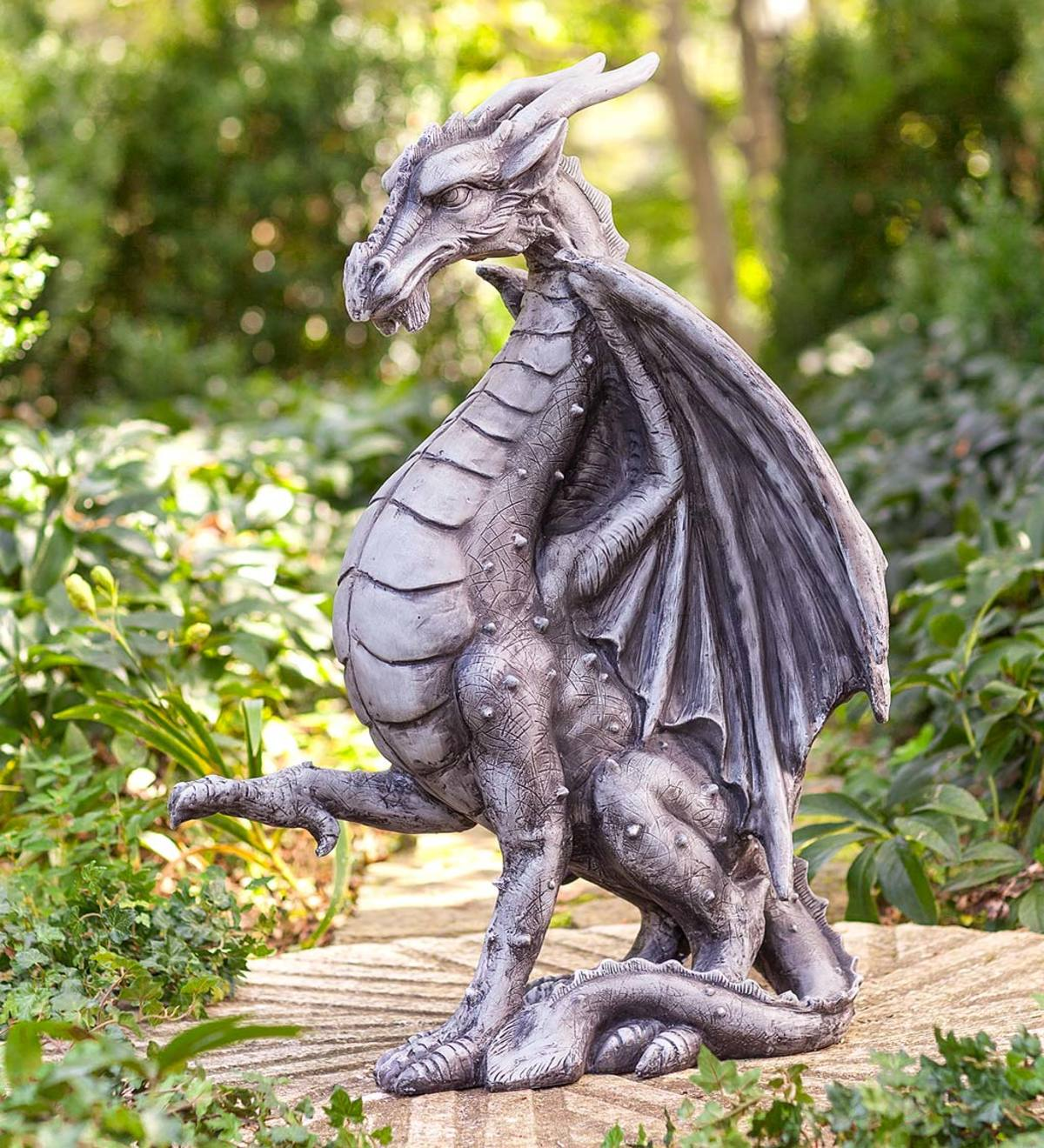 Indoor Outdoor Meval Dragon Statue