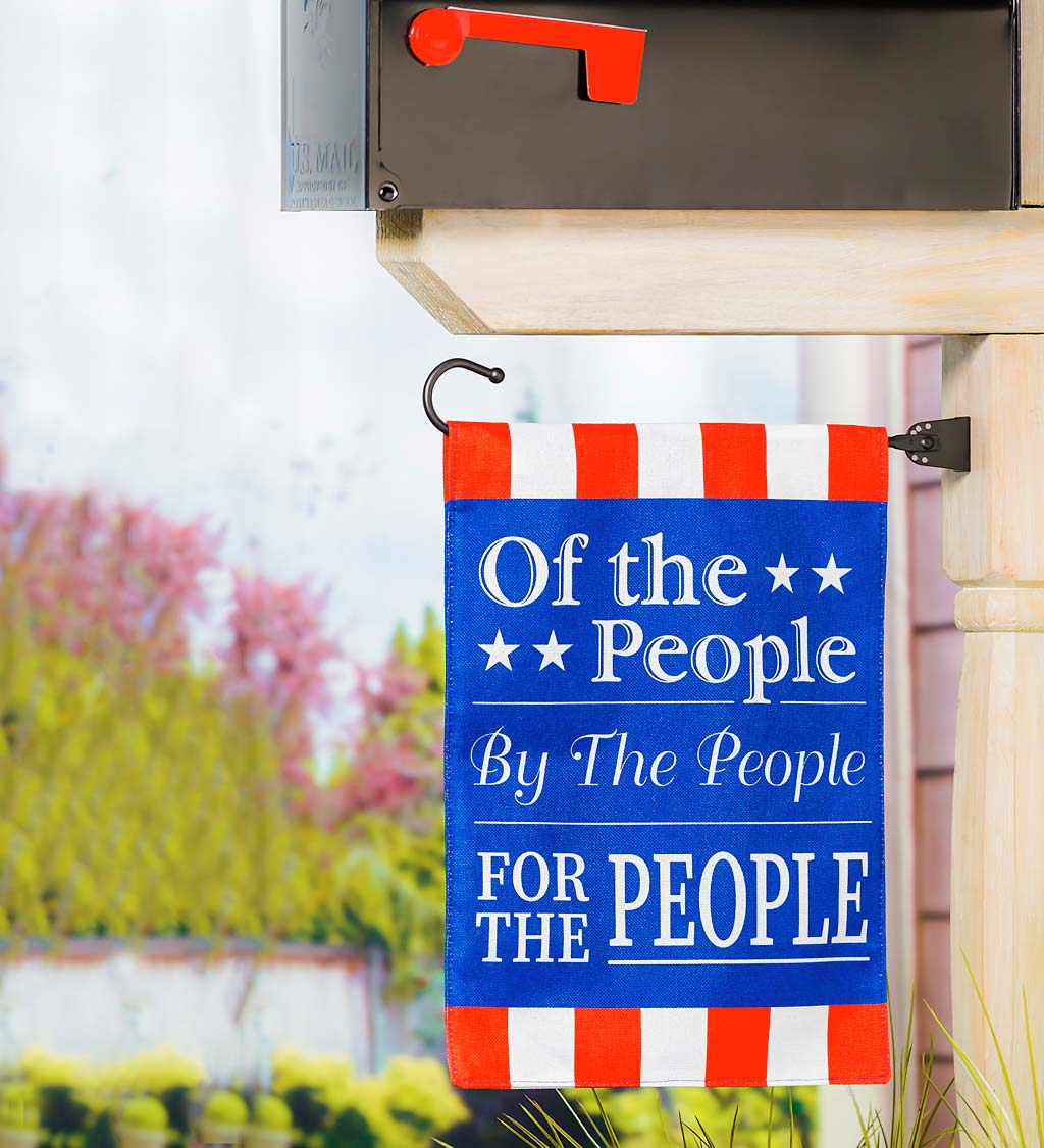 For the People Americana Garden Flag