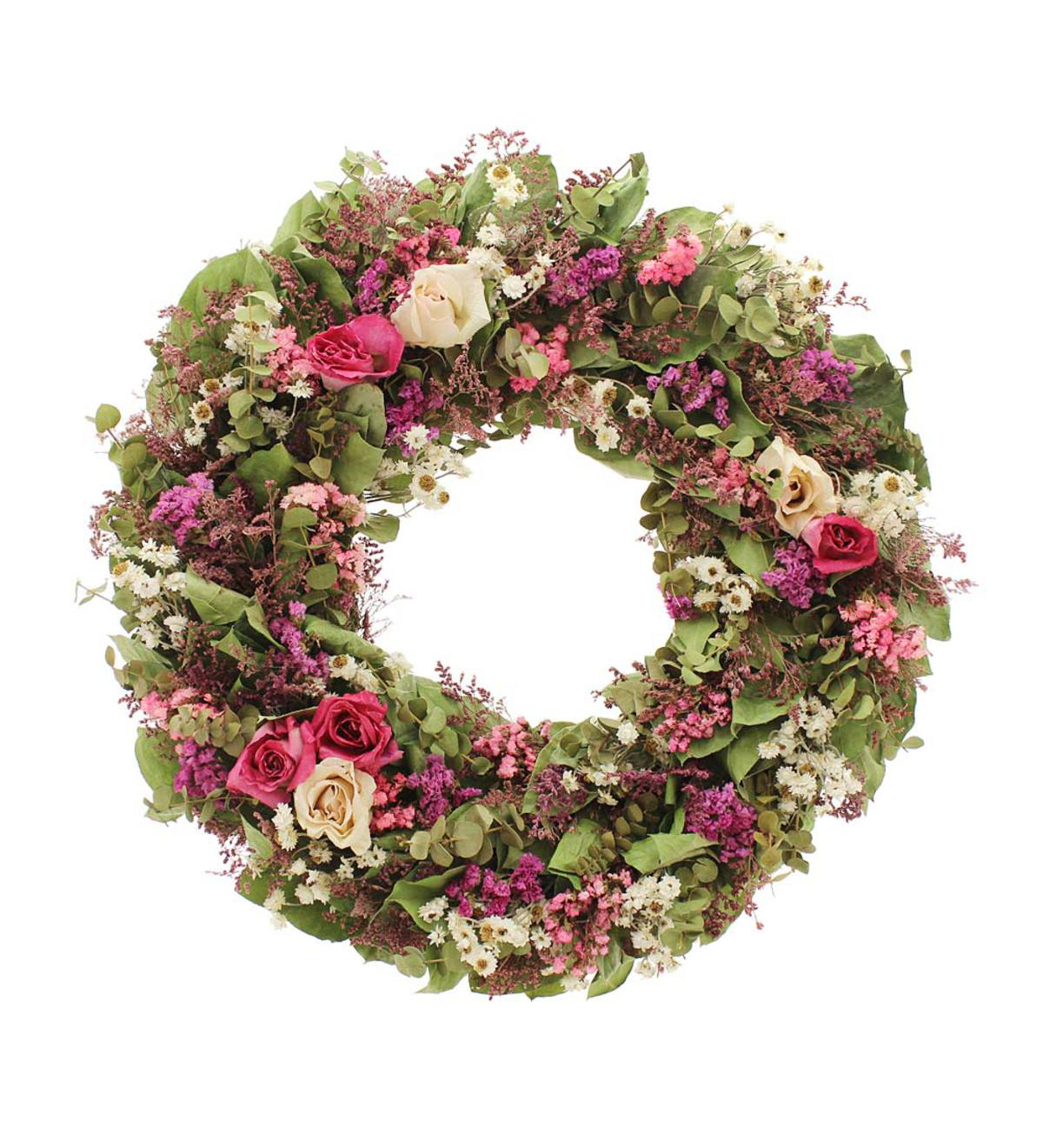 Rose Garden Wreath