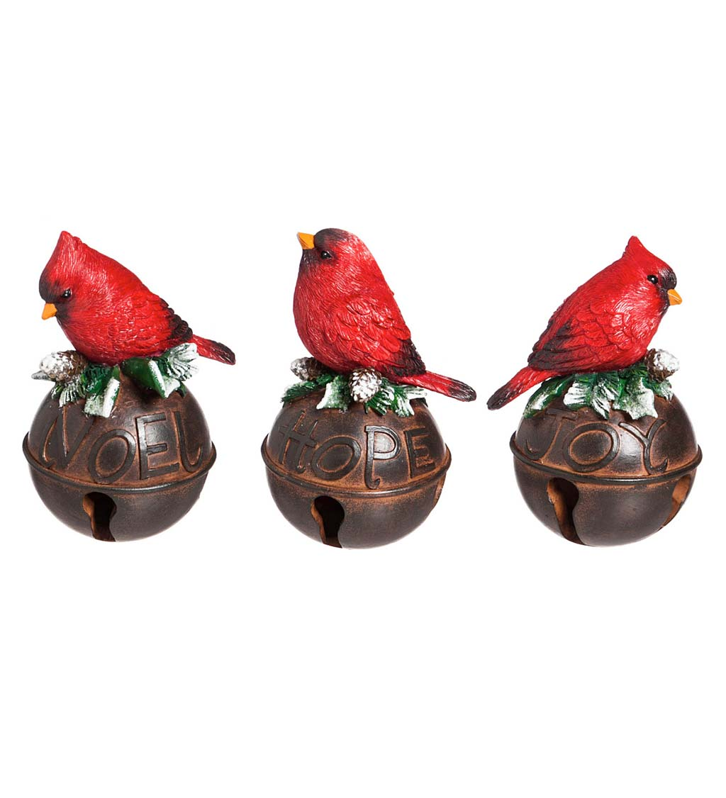 Cardinal Bells Set Of 3 Wind And Weather