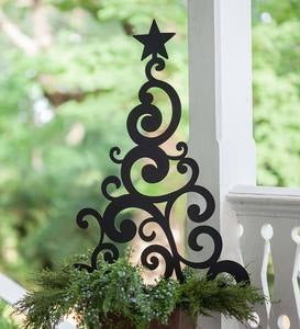 Metal Christmas Tree Stake