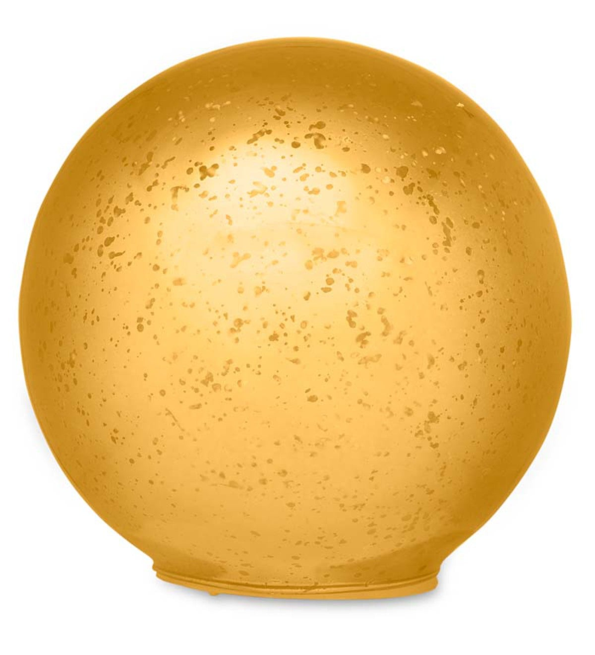 Glass Ball Lights, Set of 3 - Gold   Wind and Weather