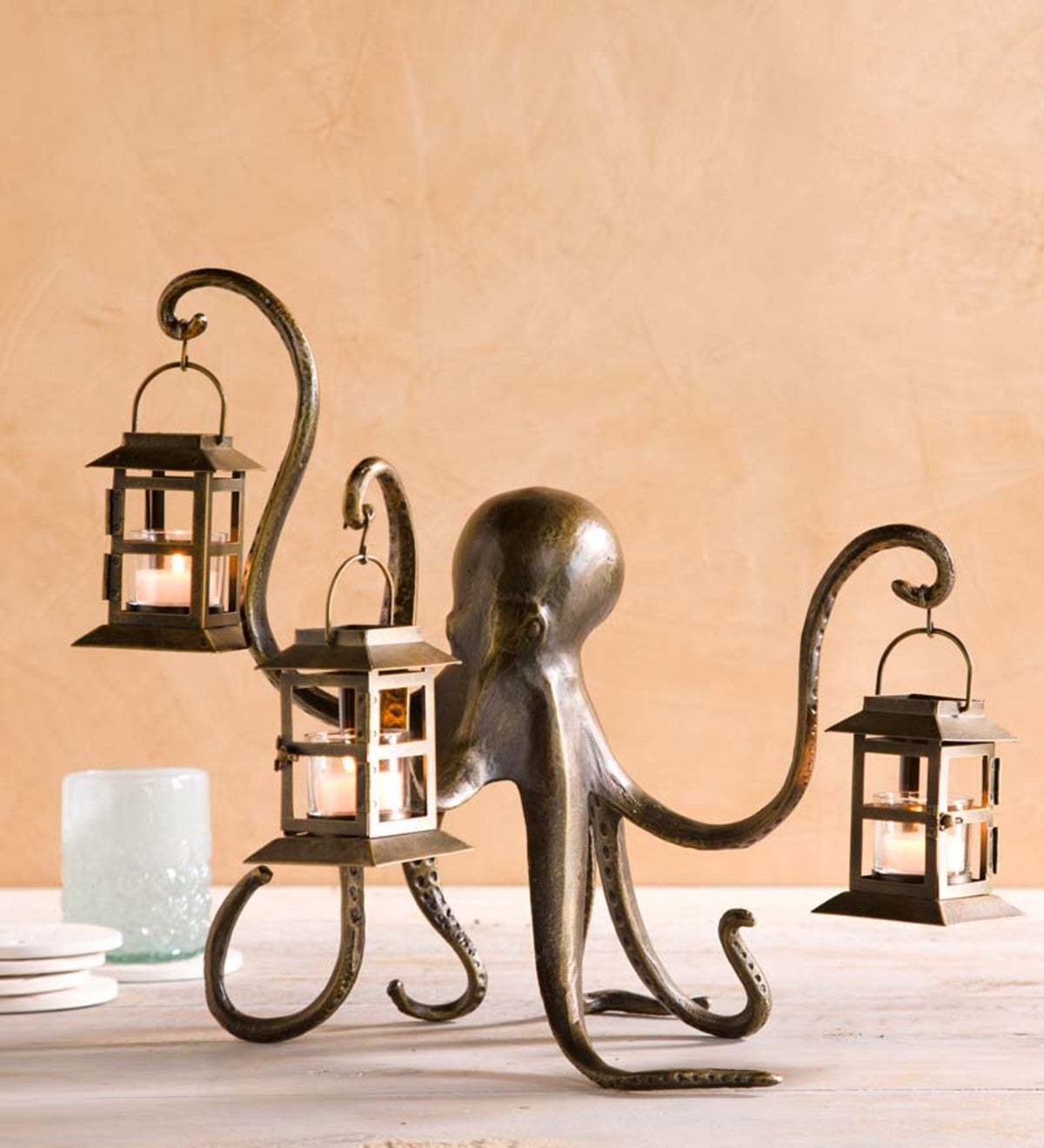 Octopus Lantern | Seaside Home Decor | New & Best Sellers | For the ...